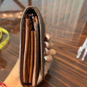Louis Vuitton Bags - Aunthentic Louis Vuitton Snap Wallet 4 cash areas!